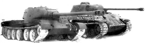 Танк Т-44, зимняя эксплуатация