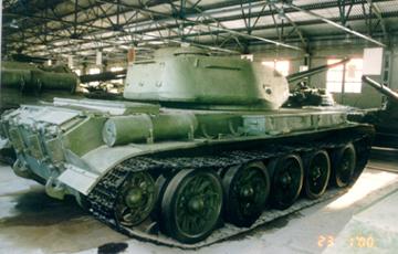Танк Т-44, задняя часть гусеницы