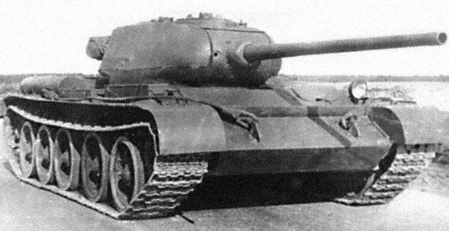 Танк Т-44, в походе