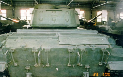 Танк Т-44, башня сзади