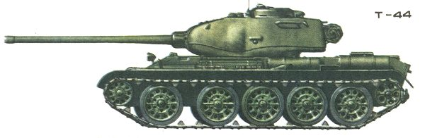 Танк Т-44, вариант окраски