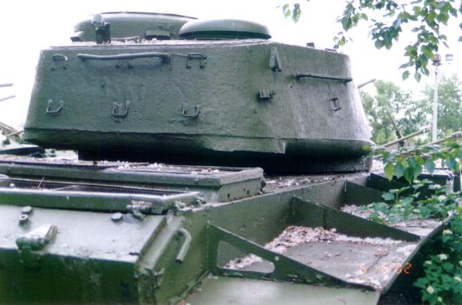 Танк Т-44, башня, вид сзади