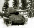 танк Т-44, зимой
