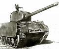 танк Т-44, с установленным пулемётом