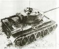 танк Т-44, вид сверху