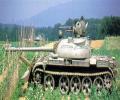 танк Т-44, с отвалом