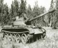 танк Т-44, в лесу