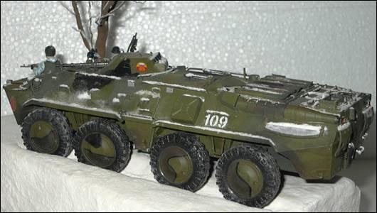БТР-80, левый борт