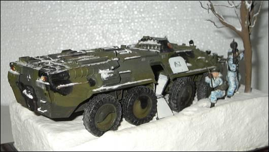 btr-80, вид справа