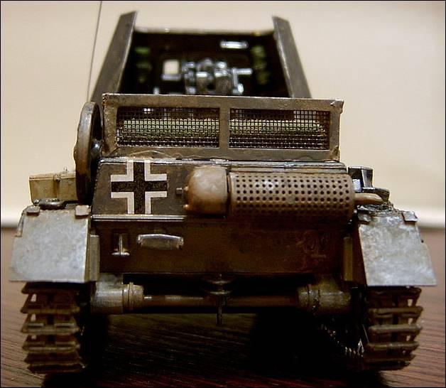 самоходная артиллерийская установка panzerjager 1