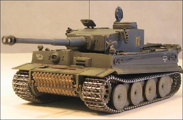 Танк Pz. VI (Тигр)
