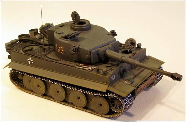 Танк pz. 6 (Тигр)