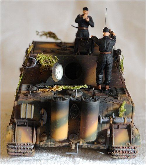 Танк Sturmtiger, вид сзади