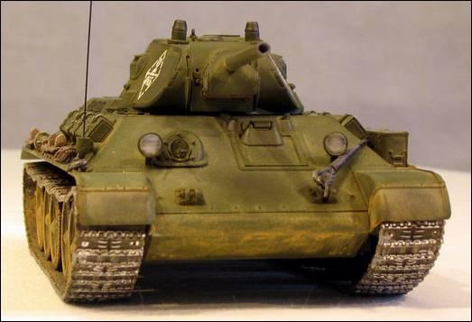 Т-34/76, вид спереди