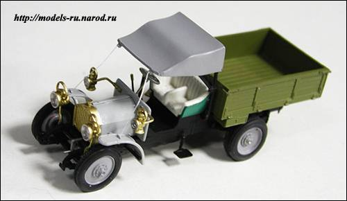 Грузовик ФАИТ-15 с тентом