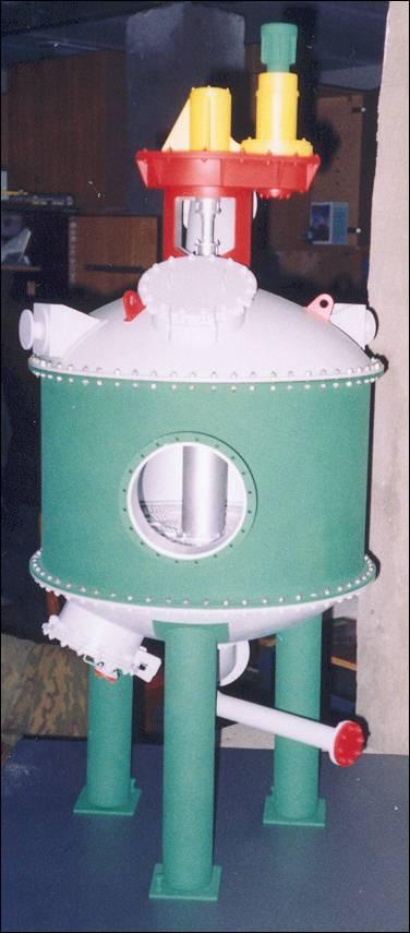 Макет химического оборудования