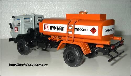 Бензовоз на базе КАМАЗ