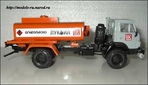 Бензовоз АТ-56081