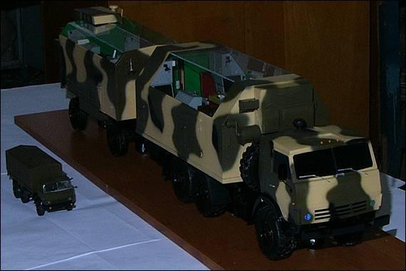 Командно-штабная машина, вид спереди