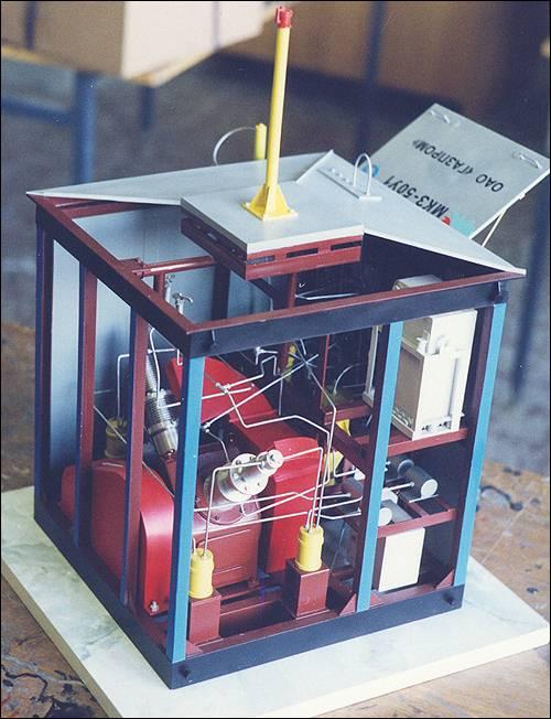 Макет компрессорного оборудования