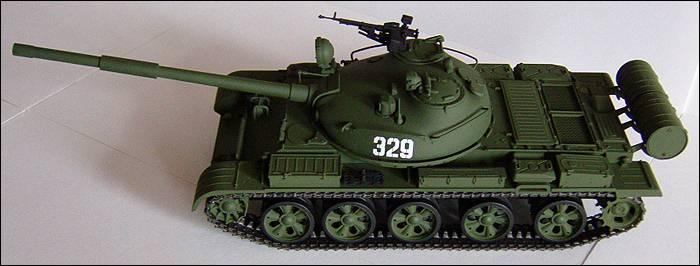 Т-62, вид слева