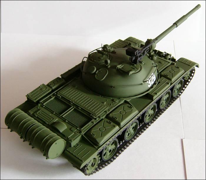 Т-62, башня