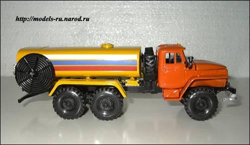 Аэродромный топливозаправщик АТЗ-5625